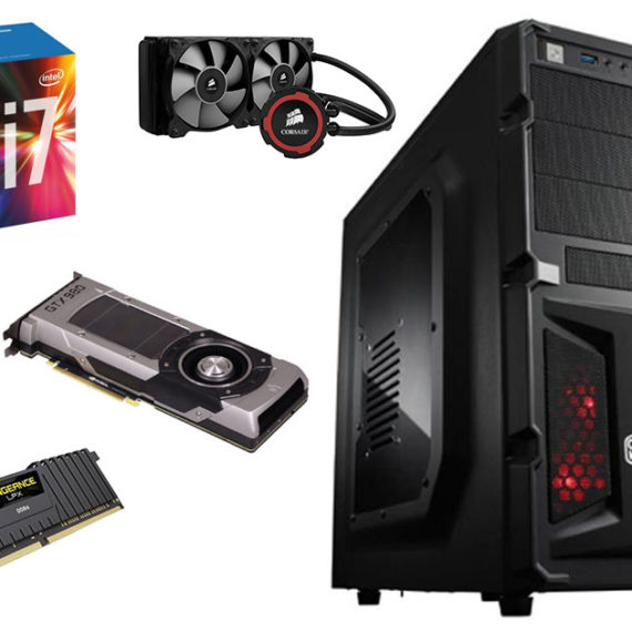 PC Gaming assemblato modello Force