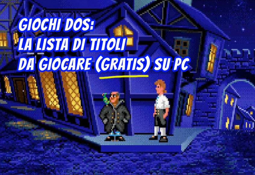 Giochi DOS: La lista di titoli da giocare (Gratis) su PC