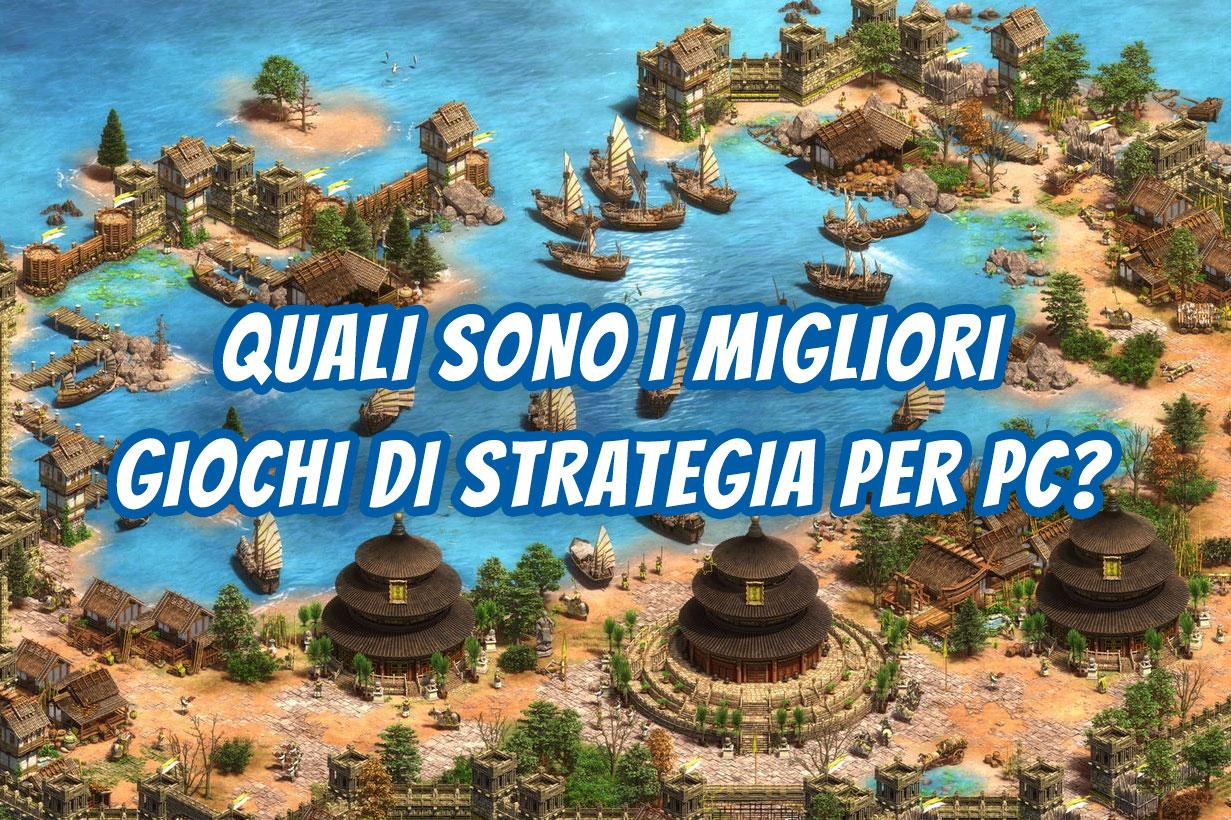 giochi strategia pc